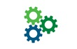 three gears icon