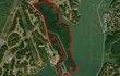 Aerial View of South Point Land for sale