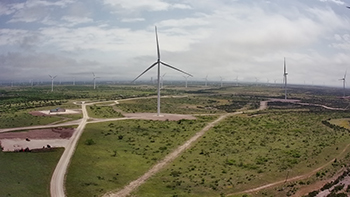 Maryneal Wind Project is located in Nolan County, Texas.